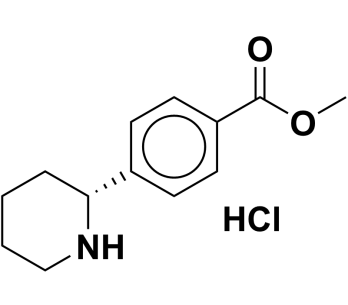methyl (R)-4-(piperidin-2-yl)benzoate hydrochloride