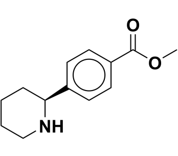 methyl (S)-4-(piperidin-2-yl)benzoate