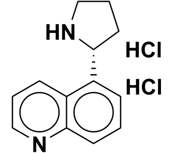 (R)-5-(pyrrolidin-2-yl)quinoline dihydrochloride