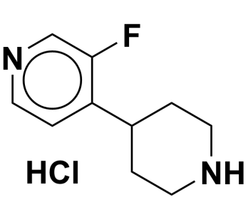 3-fluoro-4-(piperidin-4-yl)pyridine hydrochloride