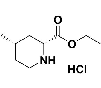 Rel-ethyl (2R,4S)-4-methylpiperidine-2-carboxylate hydrochloride