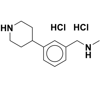 N-methyl-1-(3-(piperidin-4-yl)phenyl)methanamine dihydrochloride
