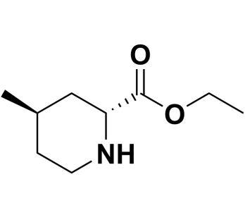 ethyl (2R,4R)-4-methylpiperidine-2-carboxylate