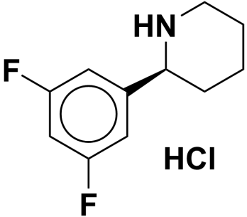 (S)-2-(3,5-difluorophenyl)piperidine hydrochloride