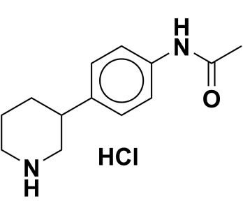 N-(4-(piperidin-3-yl)phenyl)acetamide hydrochloride