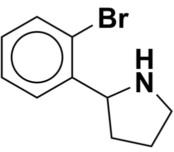 2-(2-bromophenyl)pyrrolidine