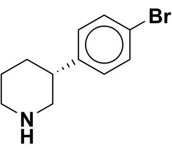 (R)-3-(4-bromophenyl)piperidine