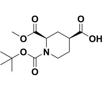 (2R,4S)-1-(tert-butoxycarbonyl)-2-(methoxycarbonyl)piperidine-4-carboxylic acid