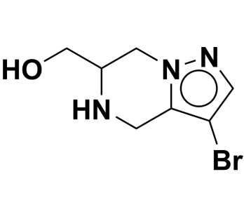 (3-bromo-4,5,6,7-tetrahydropyrazolo[1,5-a]pyrazin-6-yl)methanol