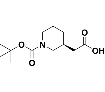(S)-2-(1-(tert-butoxycarbonyl)piperidin-3-yl)acetic acid