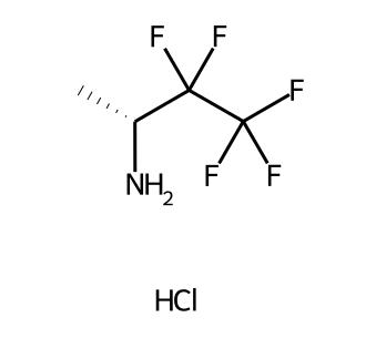 (R)-3,3,4,4,4-pentafluorobutan-2-amine hydrochloride