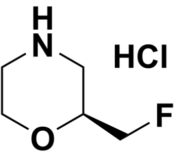 (S)-2-(fluoromethyl)morpholin-4-ium chloride