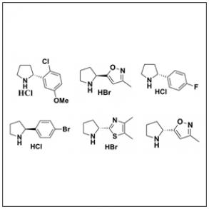 Chiral Pyrrolidines