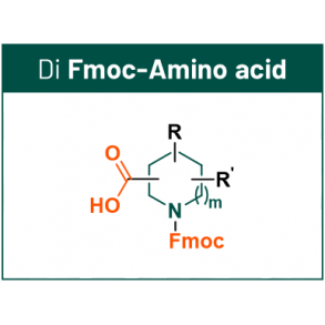DEL scaffolds with 2 synthetic handles: Fmoc-Amino Acid