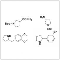 Racemic Pyrroldines
