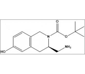 tert-butyl (R)-3-(aminomethyl)-6-hydroxy-3,4-dihydroisoquinoline-2(1H)-carboxylate