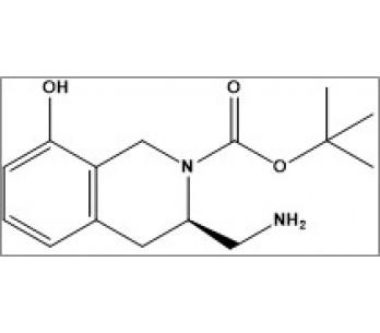 tert-butyl (R)-3-(aminomethyl)-8-hydroxy-3,4-dihydroisoquinoline-2(1H)-carboxylate