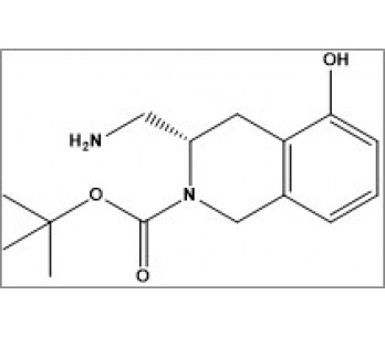 tert-butyl (S)-3-(aminomethyl)-5-hydroxy-3,4-dihydroisoquinoline-2(1H)-carboxylate