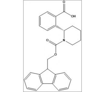 (S)-2-(1-(((9H-fluoren-9-yl)methoxy)carbonyl)piperidin-2-yl)benzoic acid