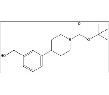 tert-butyl 4-(3-(hydroxymethyl)phenyl)piperidine-1-carboxylate