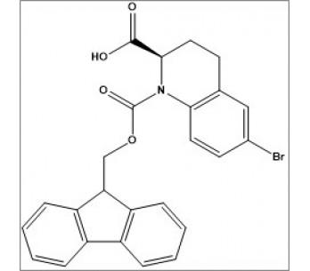 (R)-1-(((9H-fluoren-9-yl)methoxy)carbonyl)-6-bromo-1,2,3,4-tetrahydroquinoline-2-carboxylic acid