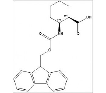 rel-(1R,2S)-2-((((9H-fluoren-9-yl)methoxy)carbonyl)amino)cyclohexane-1-carboxylic acid