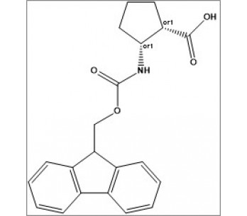rel-(1S,2R)-2-((((9H-fluoren-9-yl)methoxy)carbonyl)amino)cyclopentane-1-carboxylic acid