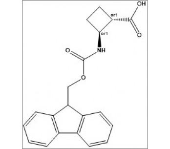 rel-(1S,2S)-2-((((9H-fluoren-9-yl)methoxy)carbonyl)amino)cyclobutane-1-carboxylic acid