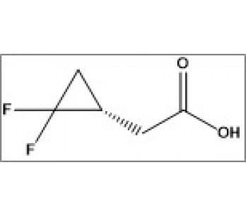 (S)-2-(2,2-difluorocyclopropyl)acetic acid