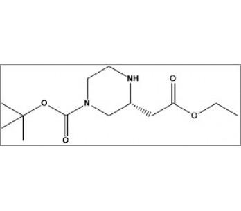 tert-butyl (R)-3-(2-ethoxy-2-oxoethyl)piperazine-1-carboxylate