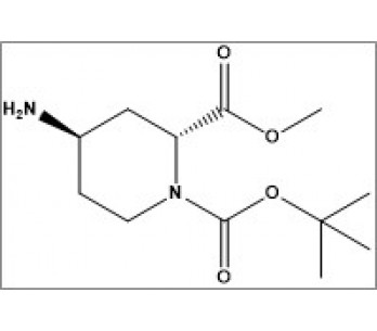 1-(tert-butyl) 2-methyl (2R,4R)-4-aminopiperidine-1,2-dicarboxylate