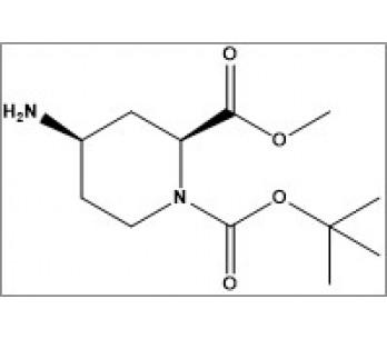 1-(tert-butyl) 2-methyl (2S,4R)-4-aminopiperidine-1,2-dicarboxylate