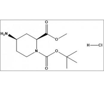 1-(tert-butyl) 2-methyl (2S,4R)-4-aminopiperidine-1,2-dicarboxylate hydrochloride