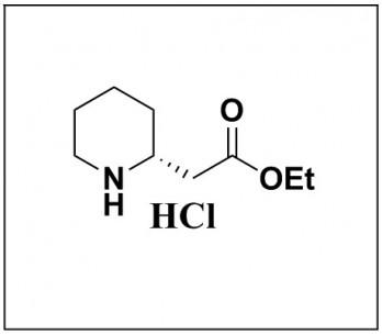 ethyl (R)-2-(piperidin-2-yl)acetate hydrochloride