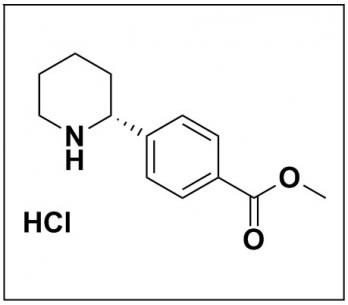 methyl (R)-4-(piperidin-2-yl)benzoate hydrochloride