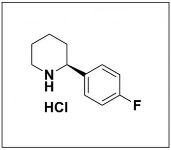 (S)-2-(4-fluorophenyl)piperidine hydrochloride