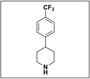 4-(4-(trifluoromethyl)phenyl)piperidine