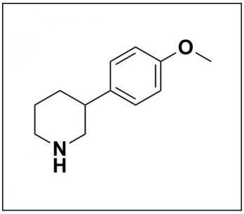 3-(4-methoxyphenyl)piperidine