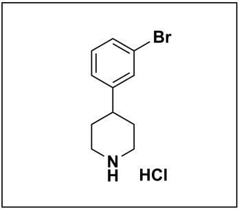 4-(3-bromophenyl)piperidine hydrochloride