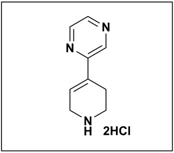 2-(1,2,3,6-tetrahydropyridin-4-yl)pyrazine dihydrochloride