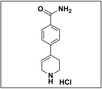 4-(1,2,3,6-tetrahydropyridin-4-yl)benzamide hydrochloride