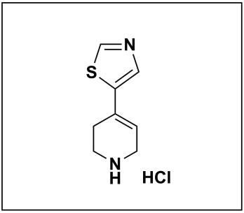 5-(1,2,3,6-tetrahydropyridin-4-yl)thiazole hydrochloride