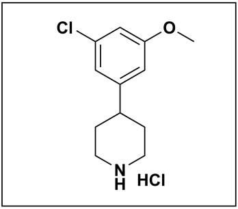 4-(3-chloro-5-methoxyphenyl)piperidine hydrochloride