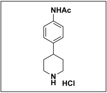 N-(4-(piperidin-4-yl)phenyl)acetamide hydrochloride