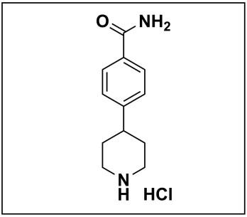 4-(piperidin-4-yl)benzamide hydrochloride