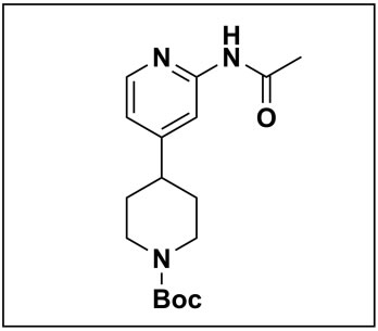 tert-butyl 4-(2-acetamidopyridin-4-yl)piperidine-1-carboxylate
