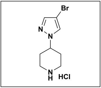 4-(4-bromo-1H-pyrazol-1-yl)piperidine hydrochloride