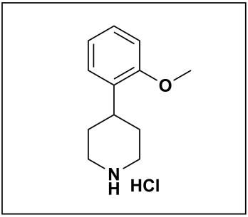 4-(2-methoxyphenyl)piperidine hydrochloride
