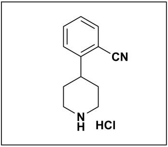 2-(piperidin-4-yl)benzonitrile hydrochloride