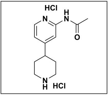 N-(4-(piperidin-4-yl)pyridin-2-yl)acetamide dihydrochloride